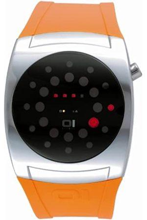 Unbekannt The One L102R3OR - Reloj Digital de Cuarzo para Hombre con Correa de plástico