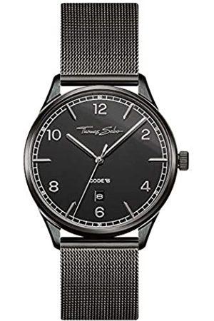 Thomas Sabo Reloj Analógico para Unisex Adultos de Cuarzo con Correa en Acero Inoxidable WA0342-202-203-40 mm