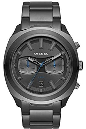 Diesel Hombre Relojes - Reloj Cronógrafo para Hombre de Cuarzo con Correa en Acero Inoxidable DZ4510
