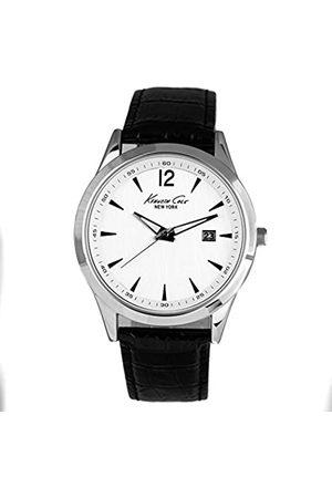 Kenneth Cole Reloj Analógico para Hombres de Cuarzo con Correa en Cuero 10008285