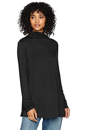 Daily Ritual Mujer Jerséis y suéteres - Jersey Mock-Neck Swing Tunic Camisa