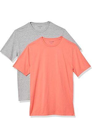 Amazon 2-Pack Slim-Fit Crewneck T-Shirt Fashion-t-Shirts, L