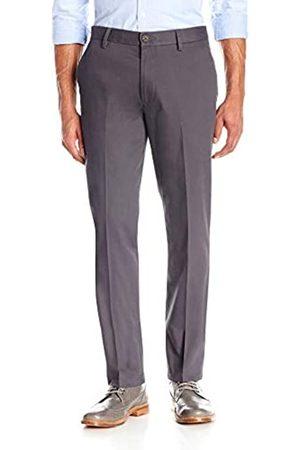 Goodthreads Slim-Fit Wrinkle-Free Dress Chino Pant Pantalones (Grey)