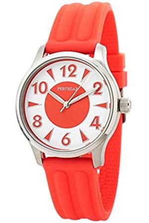 Pertegaz Relojes - Reloj Analógico para Adultos Unisex de Cuarzo con Correa en Caucho P70445-R