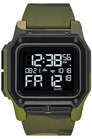 Nixon Hombre Relojes - RelojparadeautomáticamenteconCorreaenSiliconaA1180-3175-00