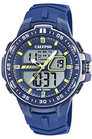 Calypso Hombre Relojes - Reloj Analógico-Digital para Hombre de Cuarzo con Correa en Plástico K5766/1