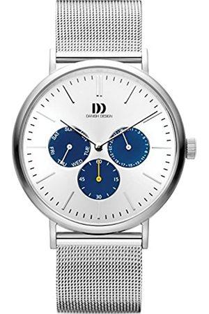 Danish Design Hombre Relojes - Reloj Multiesfera para Hombre de Cuarzo con Correa en Acero Inoxidable IQ62Q1233
