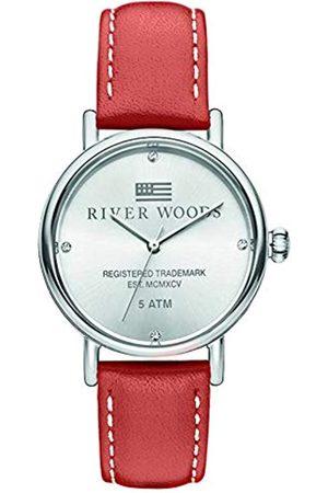 River Woods Mujer Relojes - Reloj Analógico para Mujer de Cuarzo con Correa en Cuero RW340039