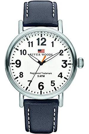 River Woods Reloj Analógico para Hombre de Cuarzo con Correa en Cuero RW420010