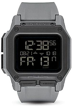 Nixon Reloj Unisex de Digital con Correa en Silicona A1180-632-00