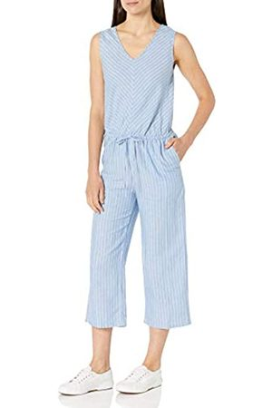 Amazon Sleeveless Linen Jumpsuit Jumpsuits-Apparel 48