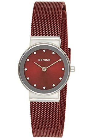 Bering Reloj Analógico Classic Collection para Mujer de Cuarzo con Correa en Acero Inoxidable & Cristal de Zafiro 10126-303