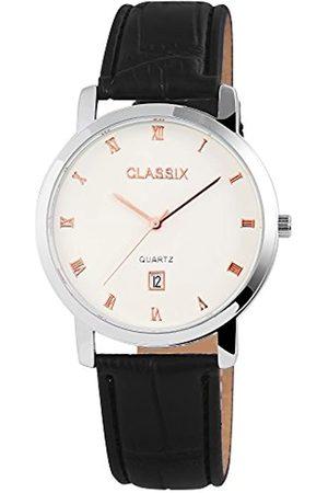 Classix Reloj Analógico para Hombre de Cuarzo con Correa en Cuero RP3102200001