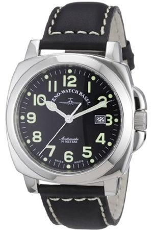 Zeno 3554-a1 - Reloj analógico automático para Hombre con Correa de Piel