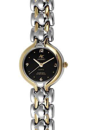 Akzent Mujer Relojes - SS7111000040 - Reloj analógico de mujer de cuarzo con correa de aleación - sumergible a 30 metros