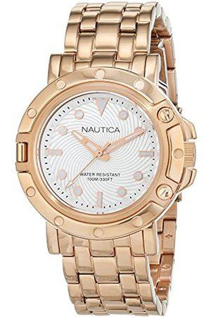 Nautica Mujer Relojes - Reloj Analógico para Mujer de Cuarzo con Correa en Acero Inoxidable 0656086081329