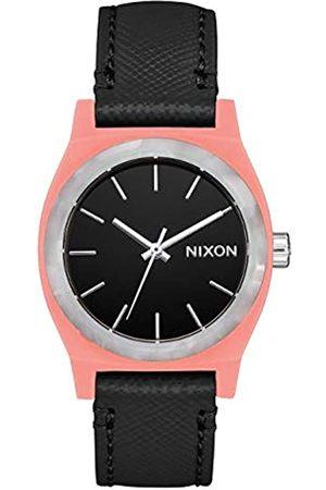 NIXON Reloj Analógico para Mujer de Cuarzo con Correa en Cuero A1172-3188-00