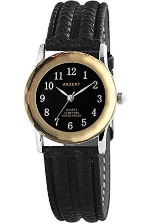 Akzent Mujer Relojes - RelojAnalógicoparaMujerdeCuarzoconCorreaenCueroSS7321100013