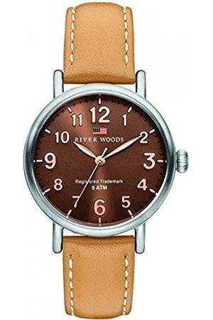 River Woods Reloj Analógico para Mujer de Cuarzo con Correa en Cuero RW340003