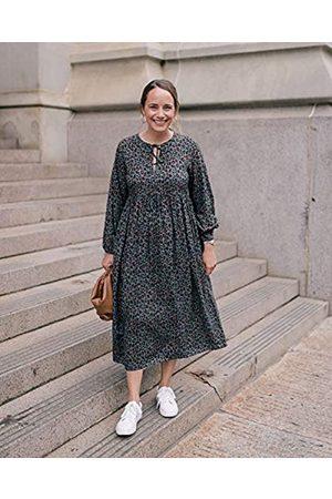 THE DROP Mujer Casual - Vestido para Mujer Suelto por Debajo de la Rodilla, por @graceatwood