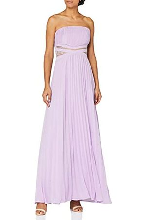 TRUTH & FABLE Mujer Largos - Marca Amazon - Vestido Dama de Honor Maxi Mujer, 34