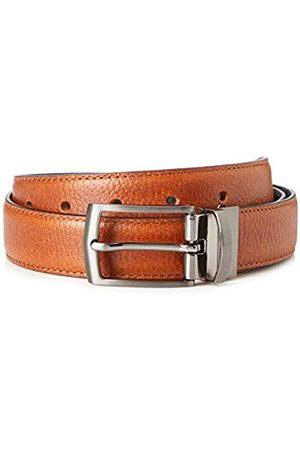 FIND Marca Amazon - Cinturón de Cuero Hombre, M