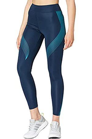 AURIQUE Marca Amazon - Bal181la18 - leggings deporte mujer Mujer, (Dress Blue/Barrier Reef), 36