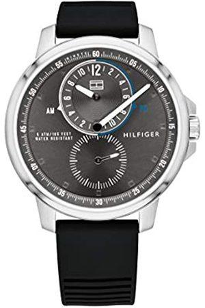 Tommy Hilfiger Hombre Relojes - Reloj Multiesfera para Hombre de Cuarzo con Correa en Goma 1791626