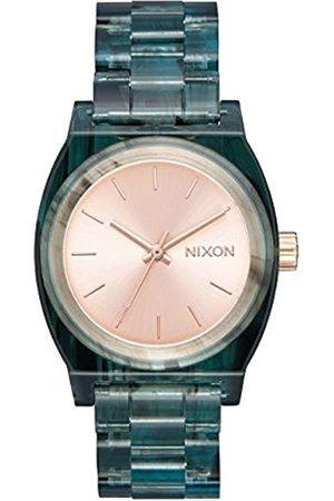 Nixon Mujer Relojes - Reloj Analógico para Mujer de Cuarzo con Correa en Ninguno A1214-2930-00