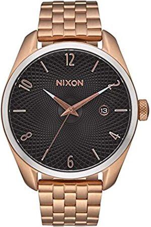 Nixon Reloj Analógico para Mujer de Cuarzo con Correa en Chapado en Acero Inoxidable A4182361-00