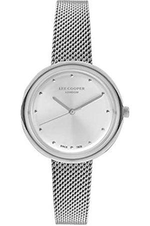 Lee Cooper Mujer Relojes - Reloj Analógico para Mujer de Cuarzo con Correa en Acero LC07057