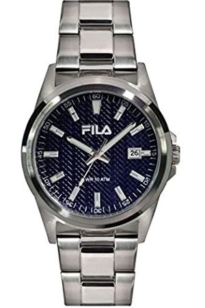 Fila Hombre Relojes - RelojAnalógicoparaUnisexAdultosdeCuarzoconCorreaenAceroInoxidable4895183802512