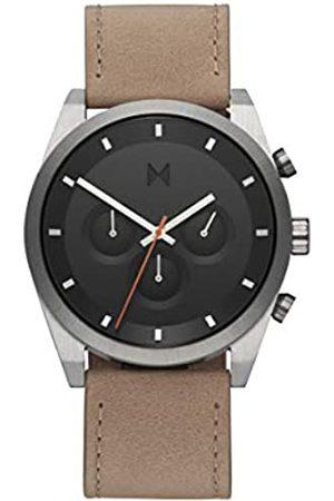 MVMT Reloj Analógico para Hombre de Cuarzo con Correa en Piel de Becerro de Cuero 28000044-D