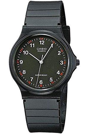 Casio Hombre Relojes - Reloj Analogico para Hombre de Cuarzo con Correa en Resina MQ-24-1BLLEG