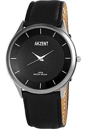 Akzent Reloj analógico para Hombre de Cuarzo con Correa en Varios Materiales SS7571000015