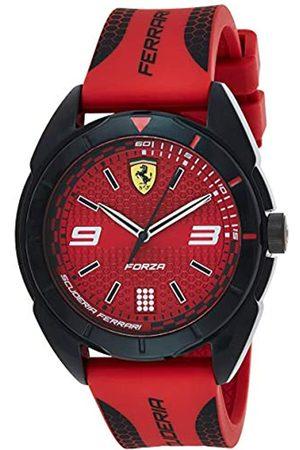 Scuderia Ferrari Hombre Relojes - Reloj Analógico para Hombre de Cuarzo con Correa en Silicona 830517