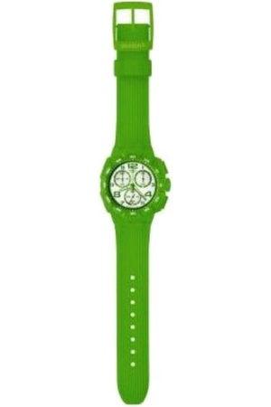 Swatch SUIG400 - Reloj cronógrafo de caballero de cuarzo con correa de plástico