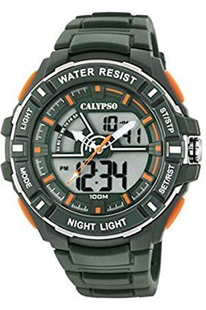 Calypso Reloj Analógico-Digital para Hombre de Cuarzo con Correa en Plástico K5769/5