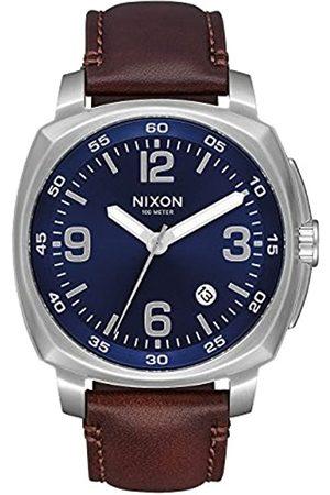 Nixon Reloj Analógico para Hombre de Cuarzo con Correa en Cuero A1077-1524-00