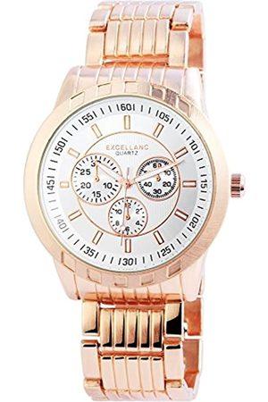 Excellanc Reloj analógico para Hombre de Cuarzo con Correa en Varios Materiales 295132500006