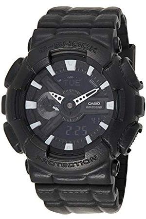Casio Reloj Analógico-Digital para Hombre de Cuarzo con Correa en Plástico GA-110BT-1AER