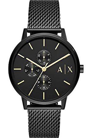 Armani Hombre Relojes - Reloj para de Cuarzo con Correa en Acero Inoxidable AX2716