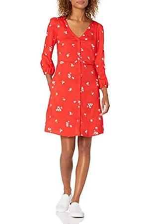 Goodthreads Georgette 3/4-Sleeve Button-Front Dress