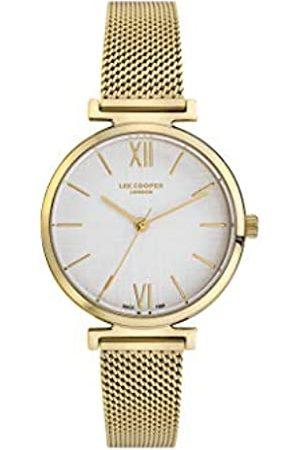 Lee Cooper Mujer Relojes - Reloj Analógico para Mujer de Cuarzo con Correa en Acero LC06937