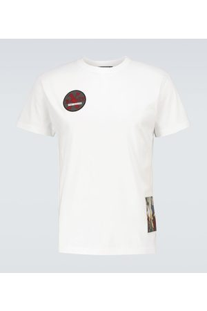 RAF SIMONS Camiseta con detalles gráficos
