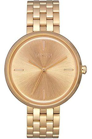 Nixon Reloj Analógico para Mujer de Cuarzo con Correa en Acero Inoxidable A1171-502-00