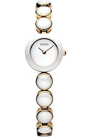 Bering Reloj Analógico Ceramic Collection para Mujer de Cuarzo con Correa en Acero Inoxidable/Cerámica & Cristal de Zafiro 33220-751