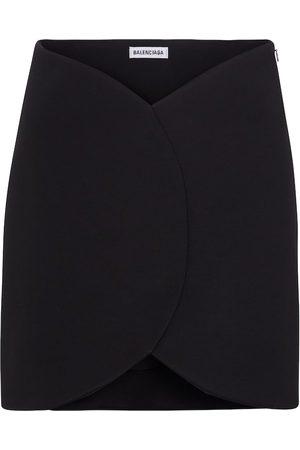 Balenciaga Minifalda asimétrica