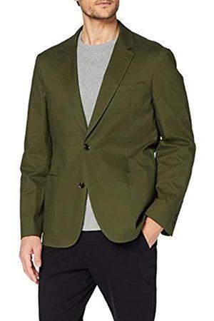 MERAKI Marca Amazon - Camisa de Vestir Estilo Óxford con Corte Entallado Hombre, Morado (Lilac), XL