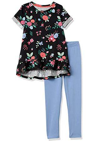 Amazon Short-Sleeve Tunic T-Shirts, Leggings Outfit Sets Vestido